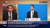 L'Éco du soir: Les députés PS font une contre-proposition au plan d'économies de Manuel Valls - 21/04
