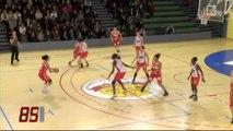 Basket féminin : La Roche-sur-Yon - Pays d'Aix (85-44)