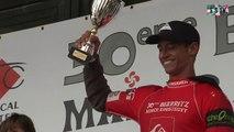 Biarritz: Maxime Huscenot gagne la Maider Arostéguy 2014 - Euskadi Surf TV