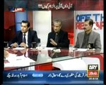 Why DG ISPR is giving statements, where is Ministry of Defence, is Minister of Defence is only for PML-N or Minister of Defence is for Arm Forces of Pakistan, Arshad Sharif comments in program OF THE RECORD