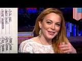 Lindsay Lohan sex list has Zac Efron, Heath Ledger, and Benicio Del Toro as conquests