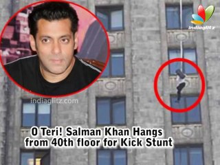 Salman Khan jumping from 40 story building
