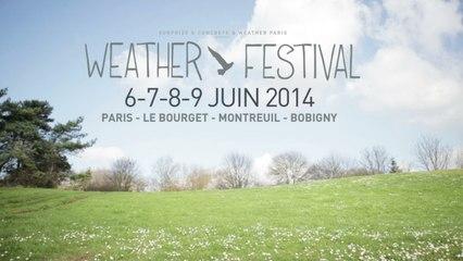 Weather Festival 2014 - Venues & Line Up