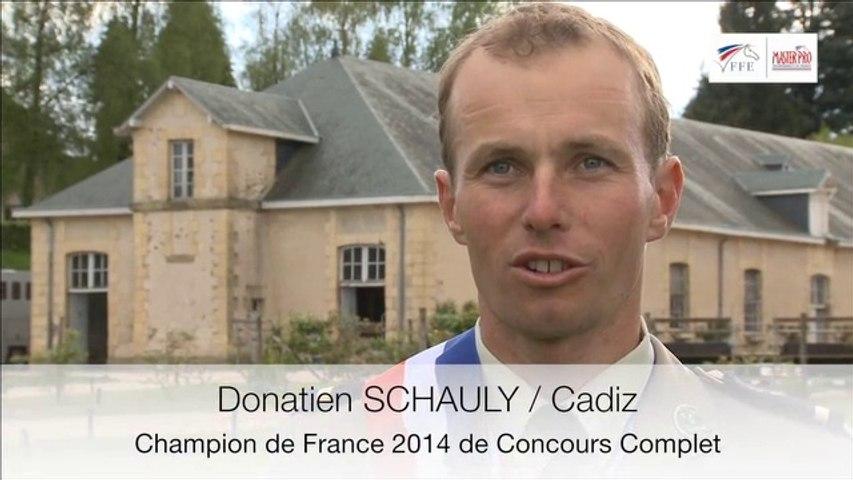 Master Pro CCE. L'interview de Donatien Schauly.