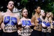 Européennes : les Femen s'attaquent au FN