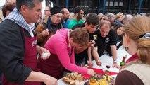 Concours d'omelettes au jambon - Foire au jambon 2014