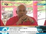 Reyes Reyes inspecciona fundo El Maizal en Lara