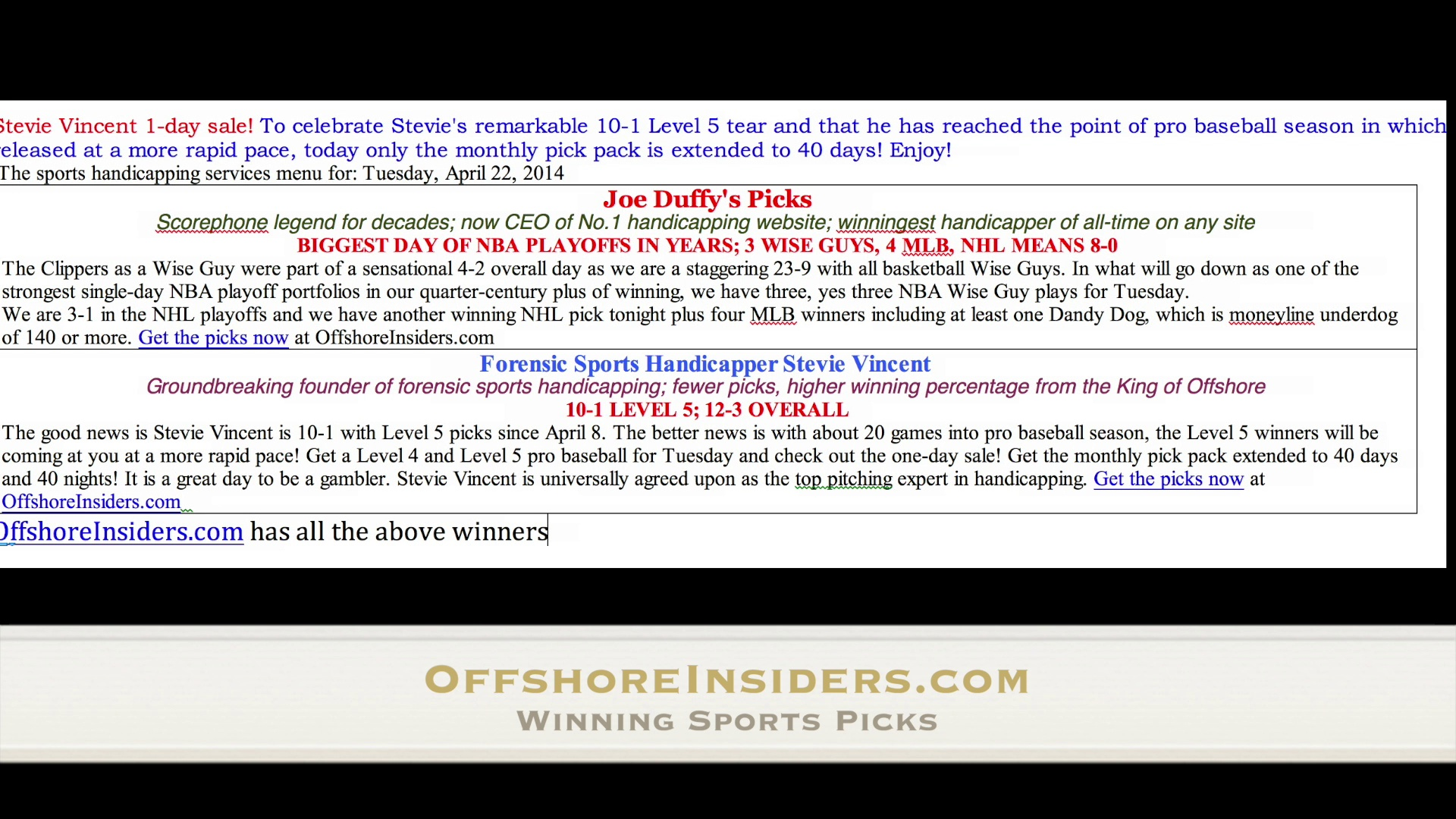 Free MLB Picks Top Baseball Handicapper