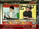 Dr. Tahir-ul-Qadri Exclusive in Khara Sach With Mubashir Lucman (22nd April 2014)