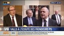 Le Soir BFM: Plans d'économies: Manuel Valls face aux frondeurs PS - 22/04 5/5