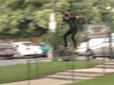 Violent Skate Nutshot... Poor Skater Boy!