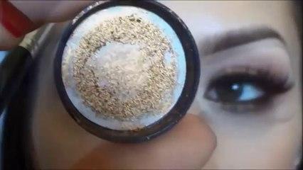 مكياج عيون برونزي Bronze Smokey Eye_s