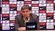 Tata Martino: Rueda de prensa después del partido contra el Athletic Bilbao