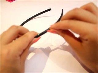 ☆DiY☆ Spiked Headband اصنعيها بنفسك ☆طوق السبايكي