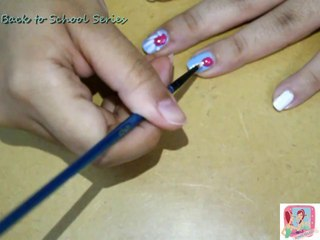 ☆Back to School Series #3 ☆ Nails Tutorial