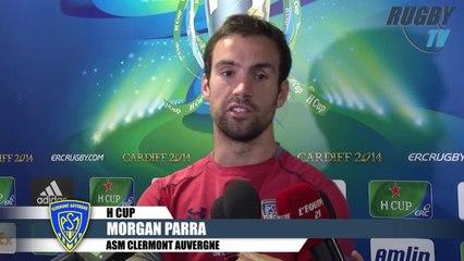 Avant match Saracens-ASM -  Kaiser-Fofana-Parra HCUP 2014