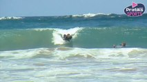 Surf - How to catch a wave on a body board