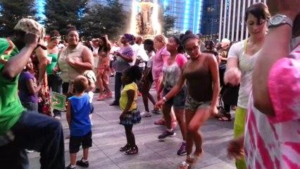 احتفالات داون تاون سنسناتي بعيد استقلال امريكا