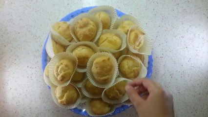 طريقة تحضير الكريم بافز (cream puffs) أكلة لذيذة جدا