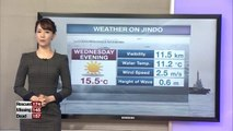 More mild weather forecast for Jindo on Thursday