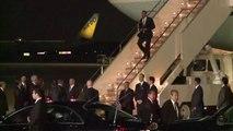 Obama chega ao Japão, primeira etapa de um giro asiático
