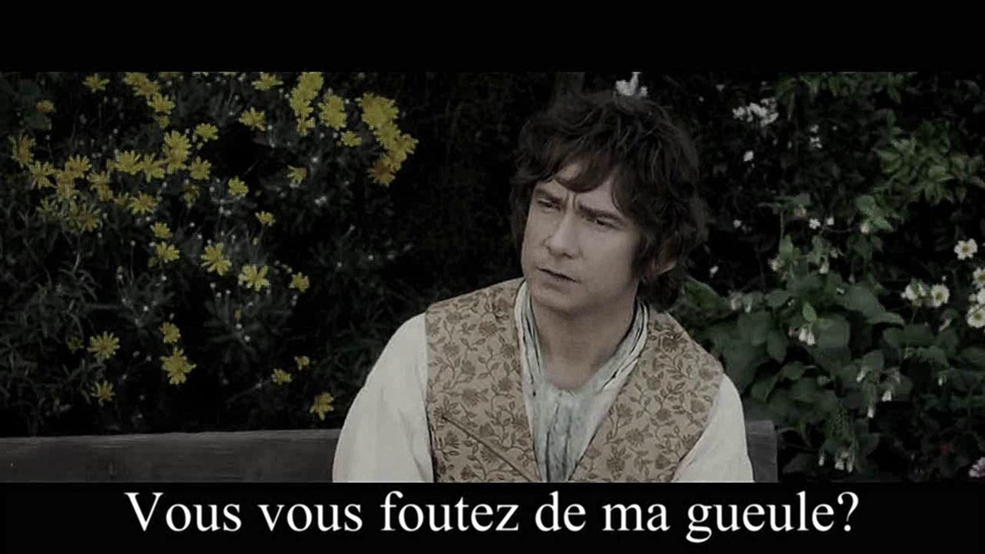[ProjetParodie]Gandalf prévient Bilbo sur ses parodies bizarres!