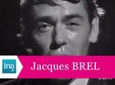 """Jacques Brel """"Ne me quitte pas"""" (live officiel) - Archive INA"""