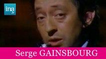 """Serge GAINSBOURG """"Je suis venu te dire que je m'en vais"""" (live offciel) - Archive INA"""