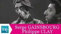"Serge Gainsbourg et Philippe Clay ""L'accordéon"" (live officiel) - Archive INA"