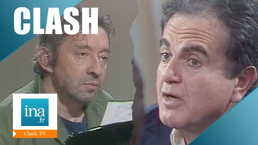 Le clash Serge Gainsbourg / Guy Béart - Archive INA