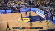 Playoffs Magic Moment: Huge Slam by Alex Tyus, Maccabi Tel Aviv