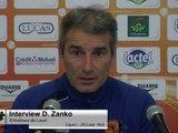 (L2-J34) Laval - Niort, interview de Denis Zanko