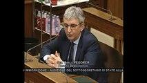 Roma - Audizione sottosegretario Gozi su immigrazione (23.04.14)
