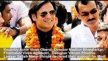 Narendra Modi meets actors - Elections 2014 - Film Industry
