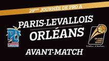 Avant-Match - J29 - Orléans se déplace à Paris-Levallois