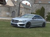Essai Mercedes CLA 45 AMG 2014
