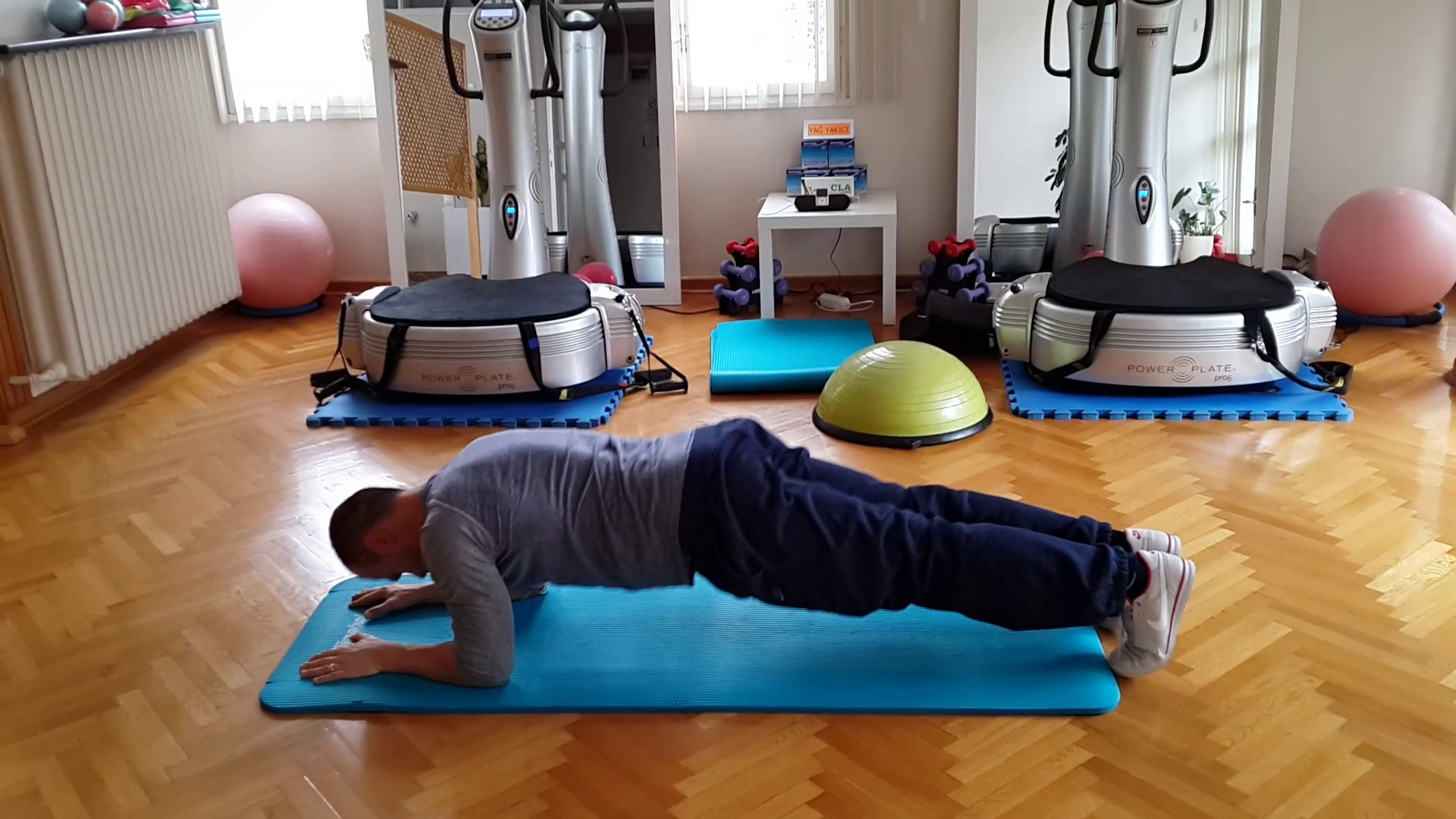 Plank - Push Up