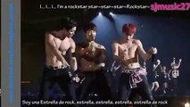 Super Junior - Rockstar [Sub español+Rom] LIVE (Especial Tokio)