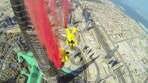 So amazing BASE JUMP from the highest Dubaï building : Burj Khalifa