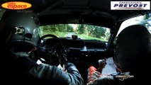 rallye Lyon Charbonnieres 2014 camera embarquée Julien SAUNIER - Fred VAUCLAURE Renault clio Williams
