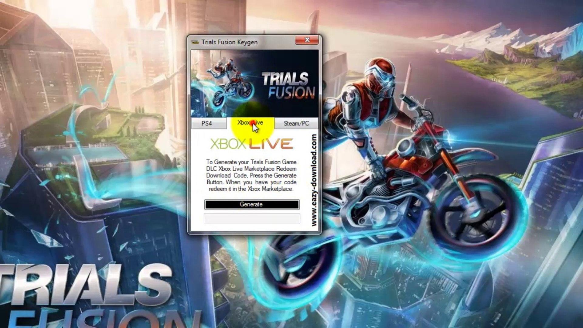 Free Trials Fusion Redeem Codes - DLC Codes - Keys - Keygen - Steam Key