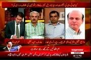 EXPRESS Takrar Imran Khan with MQM Wasay Jalil (24 April 2014)