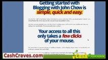 blogging with john chow bonus - Blogging tutorials get started with blogging