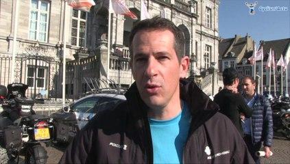 Julien Jurdie au départ de l'Amstel Gold Race 2014