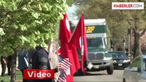 Washington'da Protesto Düzenleyen Ermenilere Türklerden Karşı Protesto
