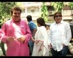 Rishi Kapoor Kirron Kher vote in Mumbai