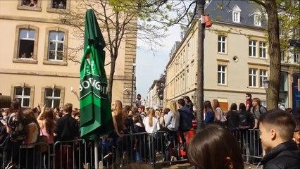 Manifestation des étudiants le 25 avril au Luxembourg [HD]