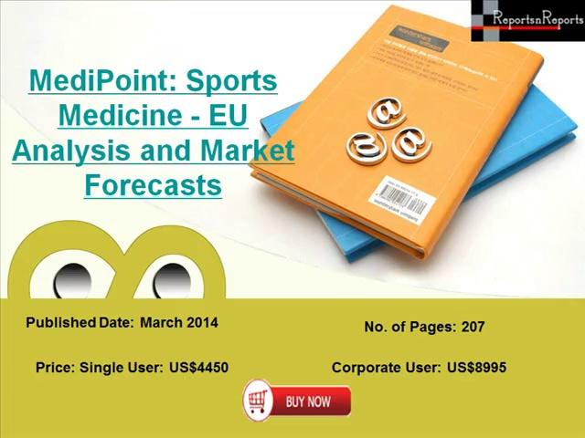 Europe Sports Medicine Market 2020