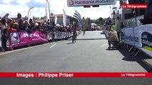 Tour de Bretagne cycliste. L'arrivée à Clisson