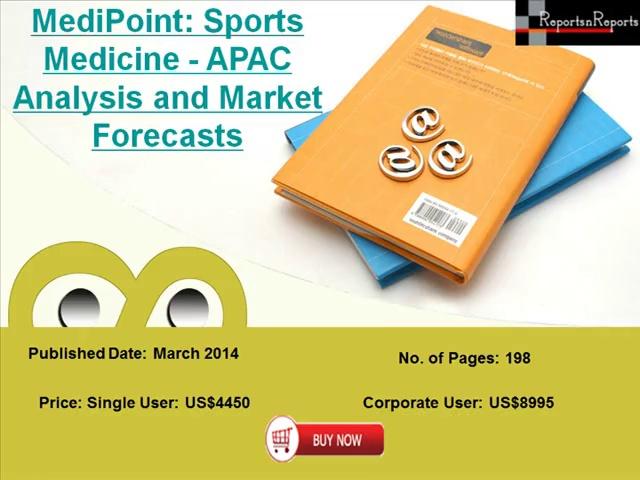 Asia Pacific Sports Medicine Market 2020